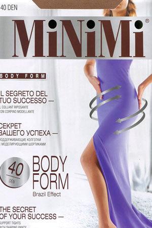 Моделирующие и утягивающие колготки BODY FORM 40 Minimi