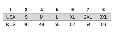Таблица размеров Enrico Coveri