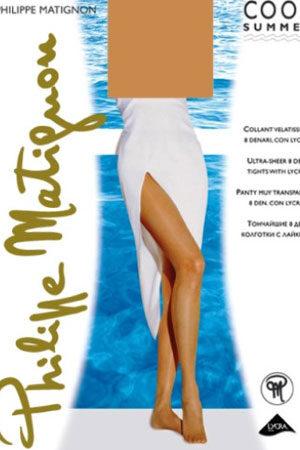 Женские классические колготки COOL SUMMER 8 Philippe Matignon
