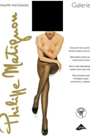 Женские классические колготки GALERIE 40 Philippe Matignon
