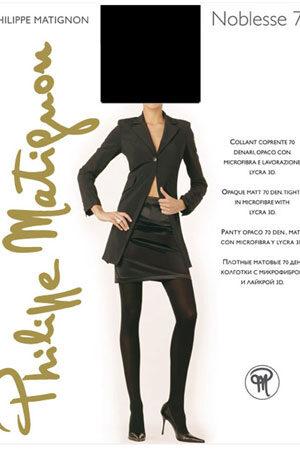 Женские классические колготки NOBLESSE 70 Philippe Matignon