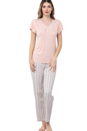 Женская пижама 2401 Пижама с брюками Reina