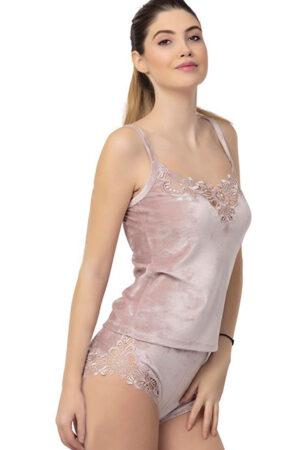 Женская пижама 2204 Пижама с шортами Reina