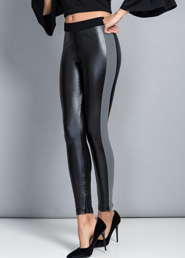 Леггинсы под кожу JADEA 4087 leggings Jadea