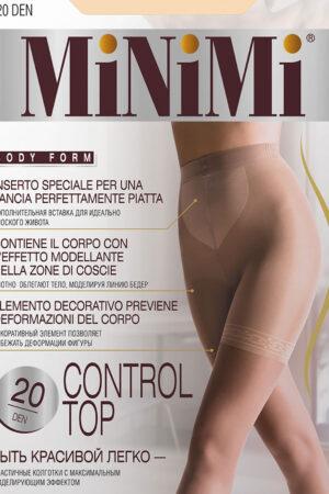 Моделирующие и утягивающие колготки CONTROL TOP 20/140 Minimi