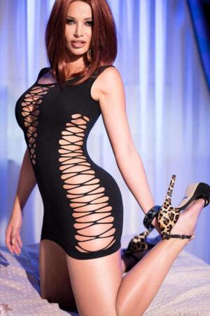 Эротические мини-платье Платье CR_4096 Chilirose