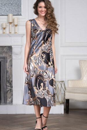 Домашнее платье 8728 Сорочка Гуччи Mia Amore