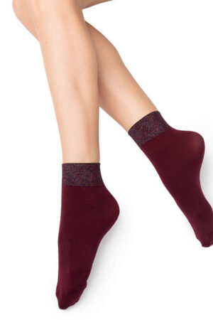 Женские фантазийные носки MICRO LUREX 70 носки Minimi