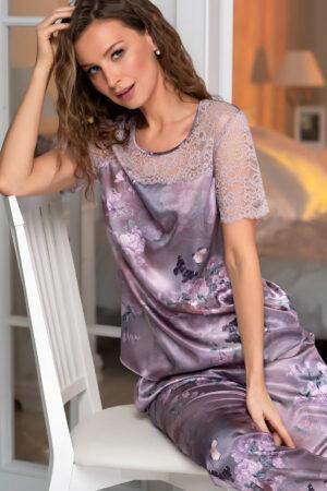 Женская пижама 3656 Комплект Аврора Mia Amore