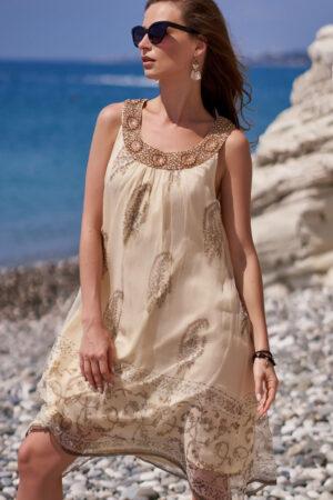 Пляжное платье 1407 Сарафан Доминикана Mia Amore