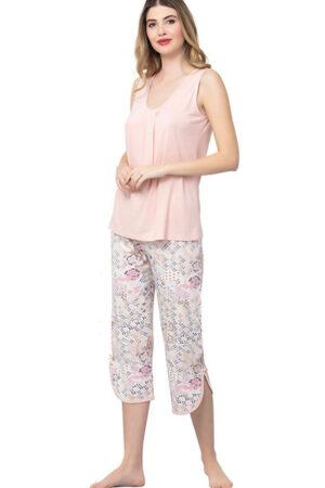 2301 Пижама с капри Reina