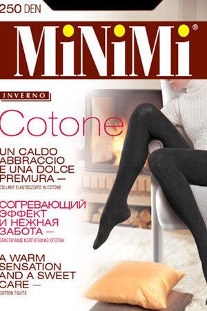 Колготки из хлопка для женщин COTONE 250 Maxi Minimi