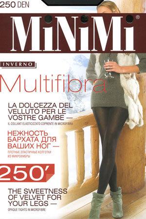 Женские классические колготки MULTIFIBRA 250 Minimi