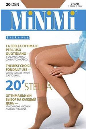 Женские классические носки STELLA 20 (2 п.) носки Minimi
