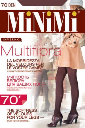 Плотные непрозрачные колготки MULTIFIBRA 70 XL Minimi