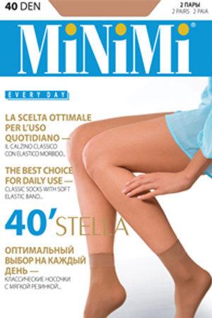 Женские классические носки STELLA 40 (2 п.) носки Minimi