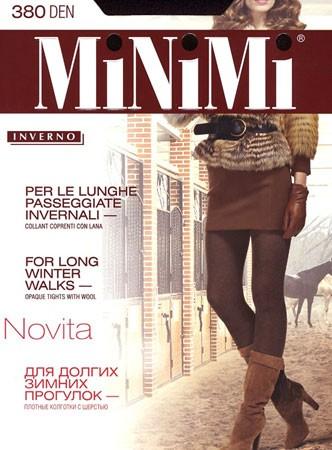 Теплые колготки с шерстью NOVITA 380 Minimi
