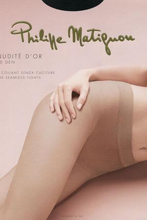 Женские классические колготки NUDITE D'OR 20 Philippe Matignon
