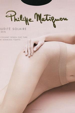 Женские классические колготки NUDITE SOLAIRE 8 Philippe Matignon