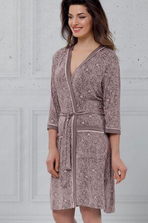 Женский халат 602 Пеньюар Reina