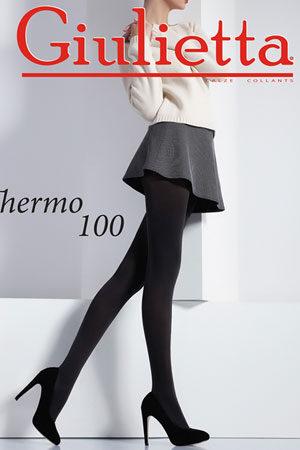 Женские классические колготки THERMO 100 Giulietta