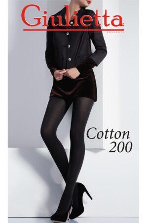Колготки из хлопка для женщин COTTON 200 Giulietta