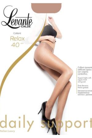 Компрессионные колготки массажные Relax 40 Levante