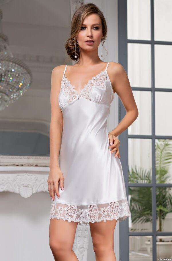 3551 Комбинация Белый лебедь Mia-Amore